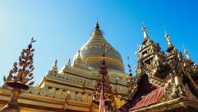 Sandamuni-Pagode in Mandalay Myanmar auf Sandamuni-Pagode ist ein buddhistisches stupa, das südwestlich von Mandalay gelegen ist stockfotografie