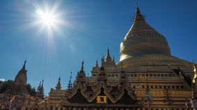 Sandamuni-Pagode in Mandalay Myanmar auf Sandamuni-Pagode ist ein buddhistisches stupa, das südwestlich von Mandalay gelegen ist lizenzfreie stockbilder