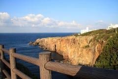Sandanbeki klippor och grottor royaltyfri bild