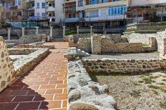 SANDANSKI, BULGARIE - 4 AVRIL 2018 : Ruines de complexe chrétien tôt dans la ville de Sandanski, photo stock