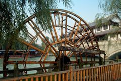 Sandaoyan, China: Baitiao River Water Wheel Stock Images