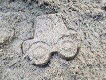Sandauto Lizenzfreies Stockfoto