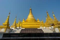 Sandawmani Paya寺庙,曼德勒市,曼德勒regi地标  库存照片