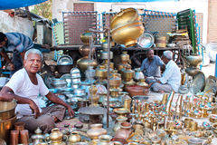 Sanday la mercado-India Imagen de archivo libre de regalías