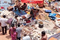 Sanday la mercado-India Fotos de archivo libres de regalías