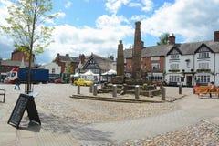 Sandbach town centre Royalty Free Stock Photography