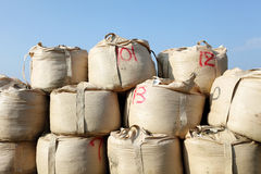 Sandbag Stock Image