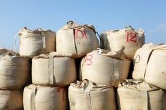 Sandbag Stock Image