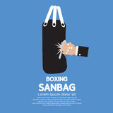 Sandbag Stock Photo