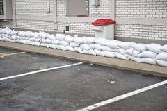 Sandbag Protection Stock Photography
