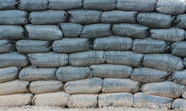Sandbags αποθήκη Στοκ φωτογραφία με δικαίωμα ελεύθερης χρήσης