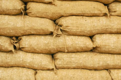 Sandbags Royalty Free Stock Photos