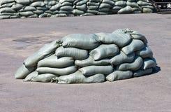 Sandbags Royalty Free Stock Photo