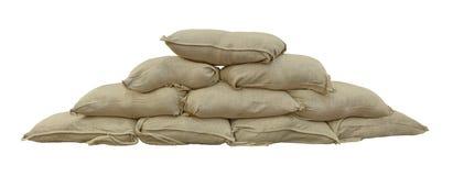 sandbags Imagen de archivo libre de regalías