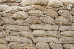 Sandbags Stock Photography