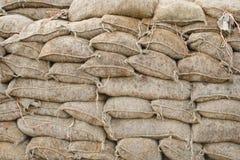 sandbags στοκ φωτογραφία