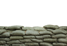 Sandbags Stock Images