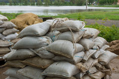 Sandbags Stock Photos