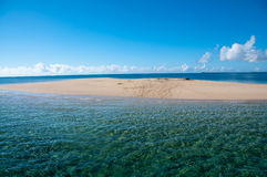 Sandbank. In the Quirimbas Archipelago of Northern Mozambique Stock Images
