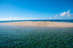 Sandbank Imagens de Stock