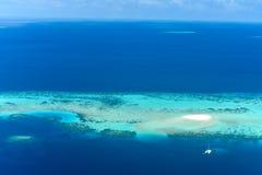 Sandbank i den manliga atollen, Arkivfoton