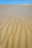Sandbank at low tide Royalty Free Stock Photography