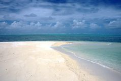 Sandbank, Madadascar Fotografia Stock