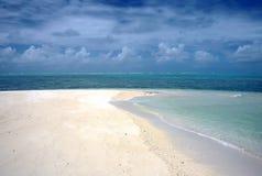 Sandbank,Madadascar. Sandbank and beach on Ils Saint Marie,Madagascar Stock Photography