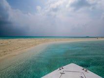 Sandbank, Maldives Stock Image