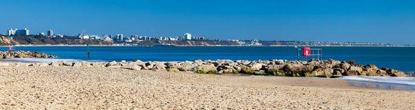 Sandbanks Beach Dorset Stock Photography