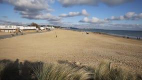 Sandbanks beach Poole Dorset England UK stock video footage