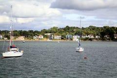 Sandbanks, Poole, Dorset. Stock Images