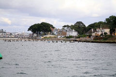 Sandbanks, Poole, Dorset, UK. Royalty Free Stock Images