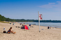 Sandbanks provincial park in Ontario Stock Photos