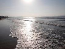 Sandbeach Стоковое Изображение RF