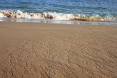 Sandbeach Στοκ Εικόνες