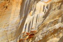 Sandbeschaffenheit Lizenzfreies Stockbild
