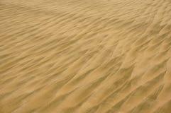 Sandbeschaffenheit auf dem Strand Lizenzfreie Stockfotografie