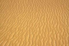Sandbeschaffenheit in der Wüste gemacht durch Wind Stockfotos