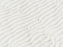 Sandbeschaffenheit, Streifen Muster und Hintergrund Stockfoto