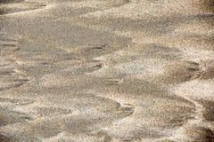Sandbeschaffenheit und -hintergrund stockfoto