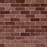 Sandblasted Brick Wall Royalty Free Stock Photography