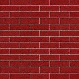 Sandblasted rote Backsteinmauer Stockbild