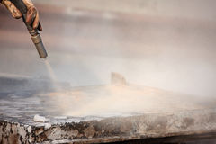 Sandblasting Stock Photos