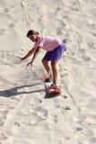 Sandboard fun Royalty Free Stock Image