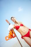 Sandboarder Stock Photography