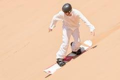 Sandboarder Fotografia Stock Libera da Diritti
