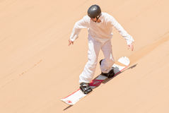 Sandboarder Royalty Free Stock Photo