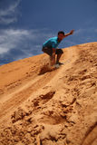 Sandboarding Royalty Free Stock Photography