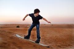 Sandboarding Lizenzfreie Stockfotos